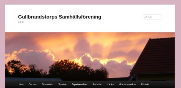 Gullbrandstorps Samhällsförening